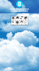 Cloud Brushes by Nas-wd