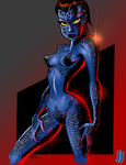 Bruce Timm's Mystique by melies