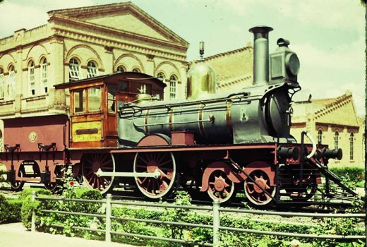 this is the first locomotive from the Cia Paulista by rafaelCP22