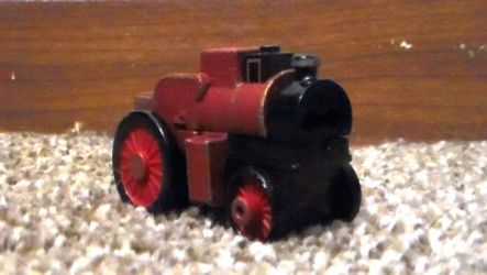 Custom Adventures Red Tractor by TheMrtraintrack