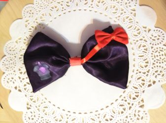 Demon Homura inspired Bow by fullmoonnightonigiri