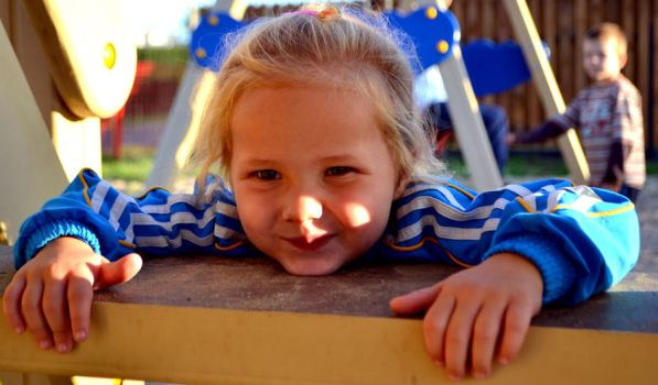 fun on the playground by Elile