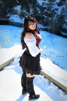 Spring Thaw, Late Winter Snow 03 by StrawberryVibe