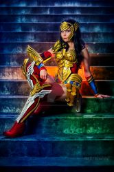 Warrior Wonder Woman by MartinWongPhoto