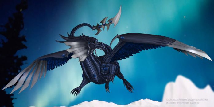 Artic Mountains -Trade- by Galidor-Dragon