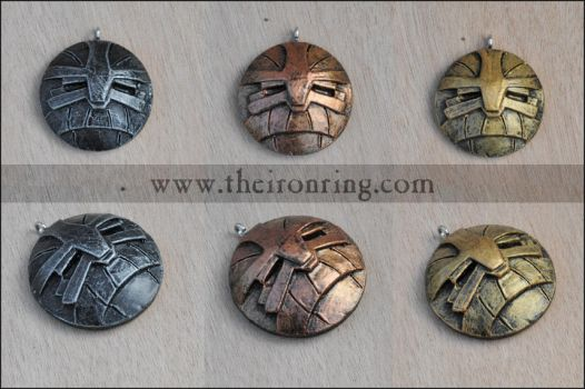 Dwarven pendants III by TheIronRing