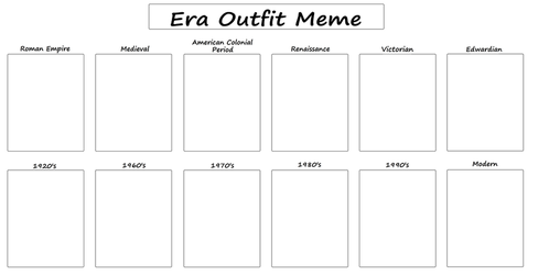 Era Outfit Meme by Grimm-Brothers