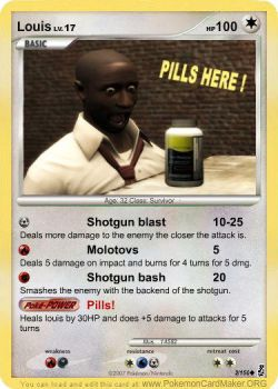 Louis Pokemon card by TheRandomGuy