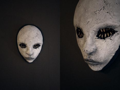 mask mouth eyes by torvenius