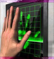 Hand-scan by chain