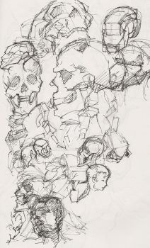 sketchedskuls by miliano