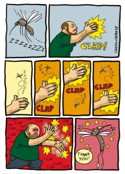 Mosquito Clap by caiooliveira