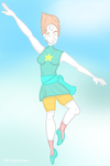 Pearl Print by xDarkNecroFearx