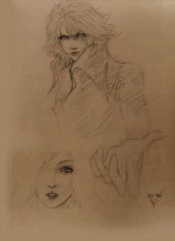 Prince of darkness sketch by Thanomluk by thanomluk