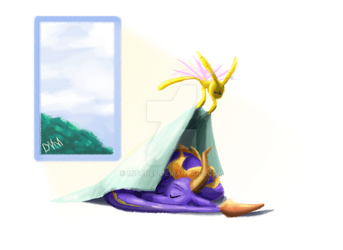 SpyFT- nap time for dragons by Mischef
