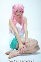 Nyu Cosplay from Elfen Lied by MorganaCosplay