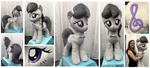 Life-sized Octavia Plushie by equinepalette