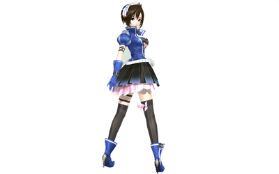 Project Diva Arcade Future Tone Blue Crystal Meiko by WeFede