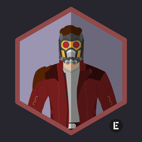 Star Lord Icon by thelivingethan
