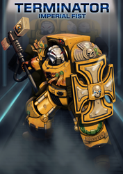 Imperial Fist Terminator by Bobot073