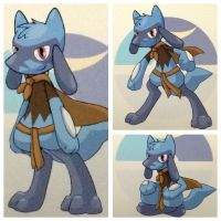 Rohan the Riolu (youngling), Clone Wars. by Froexd