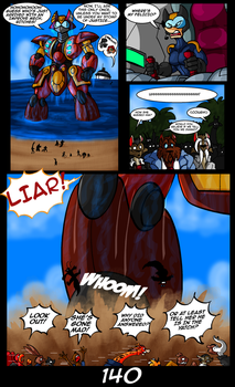 The Cats 9 Lives 6 - The Island of Dr. MorrowPg140 by GearGades