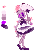 Purple Flower Rain Child [CUSTOM] by SmasherlovesBunny500