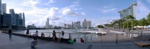 Marina Bay Wide shot by amiyain