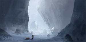 Halls of Snow by JustMick