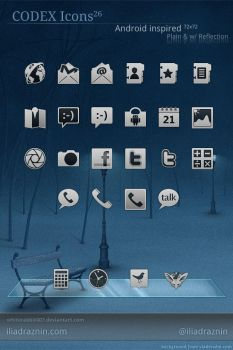 Codex Icons for Android by whiterabbit007