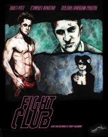 Fight Club poster by gavinsmith
