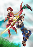 Lets show them a thing or three by Marth-the-Fabulous