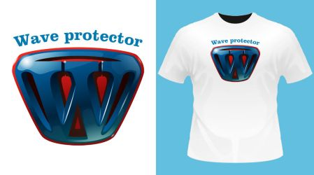 Wave protector Boy by vincemuss