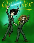 HPMOR: Quibbler cover with Daphne and Hannah by TessTheMess22