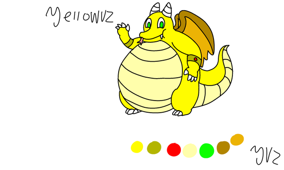 Yellowvz the dragon refrence by yellowvz