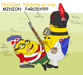 Holdfast: Nations at war MINION PARODY by Sikojensika