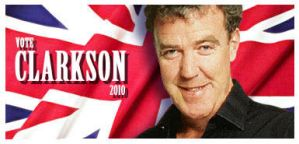 Clarkson for PM shirt logo by sands-of-vulcan