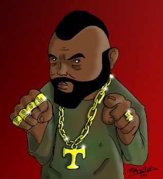 Mr T by Shiuman