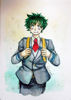Midoriya by IceCreamKari