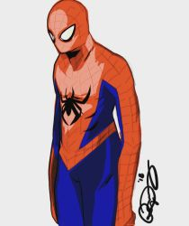 spiderman  by dapthehomie