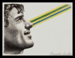 Ayrton Senna do Brasil by HLea33