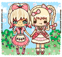 Lola and Lucy by Miss-Glitter