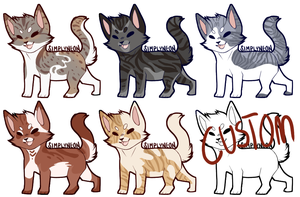 Cat Adopts .closed by Divinity-Adopts
