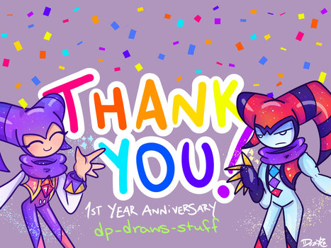 Happy Anniversary! by DP-draws-stuff