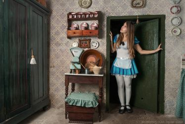 Alice in Wonderland - Cosplay Project #8 by Chrissett