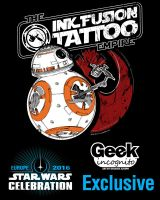 BB-8 Star Wars Celebration Europe by Geekincognito