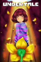 Undertale Frisk + SpeedPaint by Yangspirit