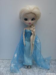 pullip custom frozen elsa by Rach-Hells-Dollhaus