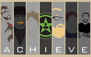 Achievement Hunter Wallpaper by aleco247