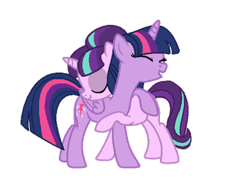 MLP Starlight Glimmer and Twilight Sparkle by Lyrica-Clef